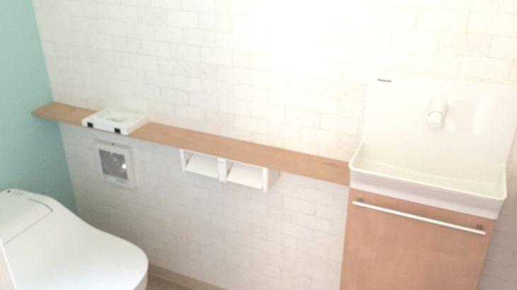 WEB内覧会:1Fメイントイレの全貌!成功・失敗・後悔・考察・視点などまるごとまとめ