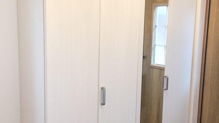 WEB内覧会:玄関周り。無駄のないシンプルな設計
