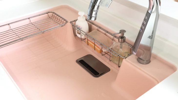 キッチン:人工大理石シンクの簡単お手入れ法実践