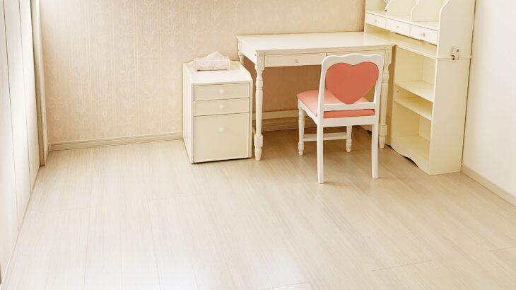 【WEB内覧会】ホワイトオークの娘部屋:広さは?将来を見据え、収納を大きめにした理由